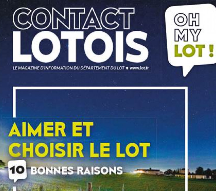 magazine contact lotois